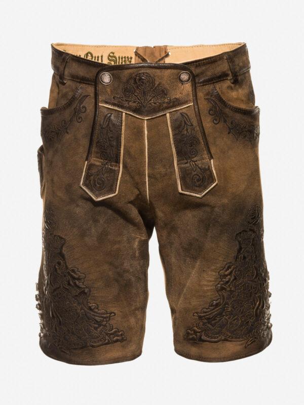 schwarze Arsch-Shorts